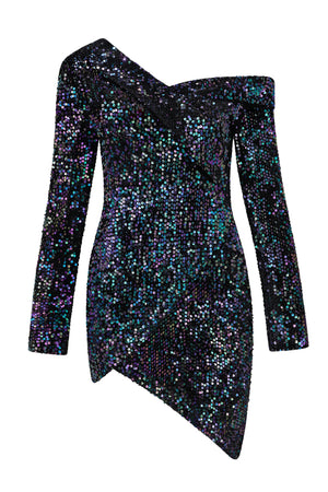 Anastasia Sequins Bodycon Mini Dress