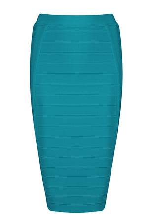 Kaylee Bandage Skirt-Green