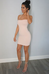 Lola Bodycon Dress - Peach
