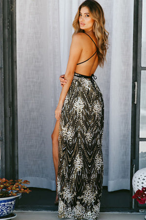 Azzura Embellished Maxi Dress