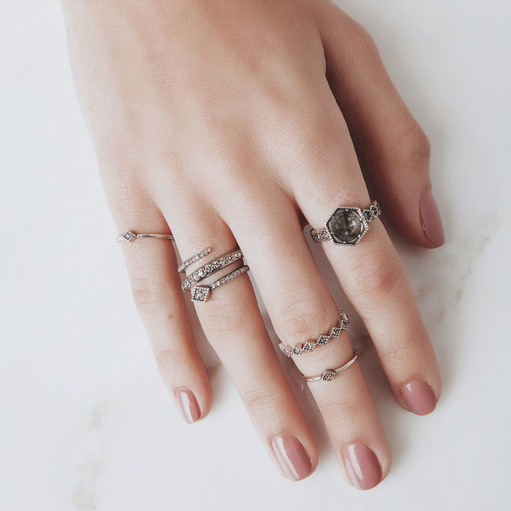 Full Bloom Ring Set