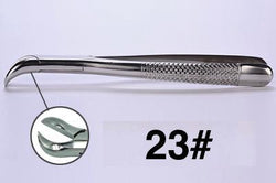 23# dental extraction forceps (2pcs) - ADAE Dental Online Store