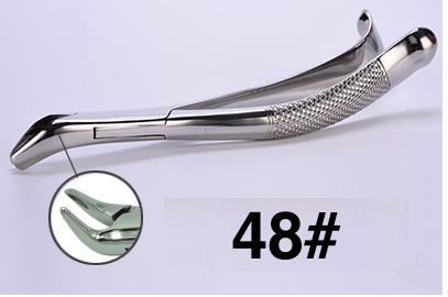 48# dental extraction forceps (2pcs) - ADAE Dental Online Store