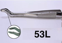 53L dental extraction forceps (2pcs) - ADAE Dental Online Store