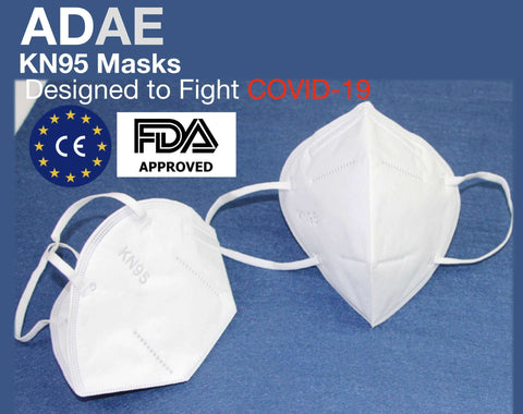 ADAE KN95 Masks-New Version(FDA-CE approved) - ADAE Dental Online Store