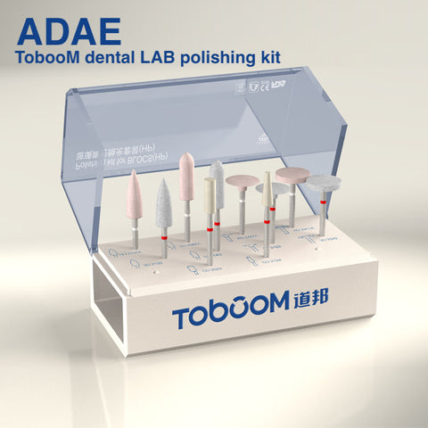 ADAE Toboom dental LAB polishing kit - ADAE Dental Online Store