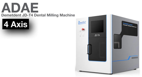 Demetdent JD-T4 dental milling machine  (4Axis) - ADAE Dental Online Store