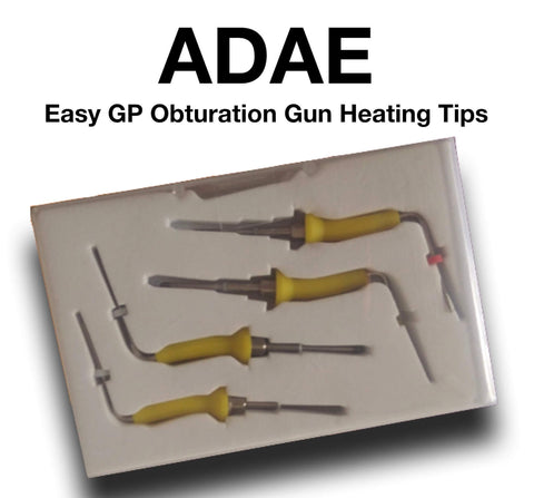 Heating tips for easy GP Pen obturation system - ADAE Dental Online Store