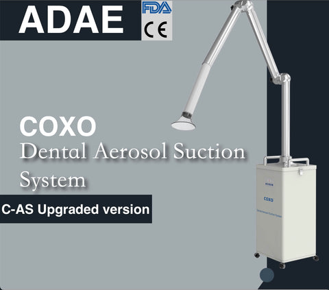Upgraded Coxo extraoral aerosol suction unit (FDA-CE approved)-(BIG sale)
