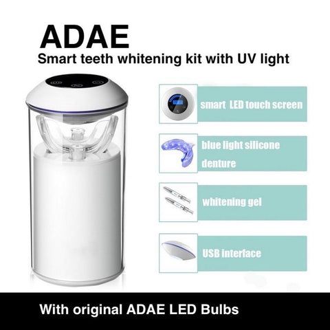 ADAE Smart teeth whitening kit with UV light - ADAE Dental Online Store