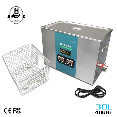 Ultrasonic cleaner (size 30L) - ADAE Dental Online Store