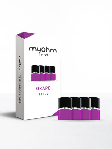 myohm - Grape 4pk