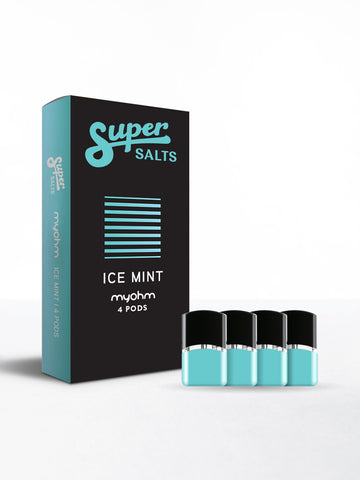 Super Salts x myohm - Ice Mint 4pk