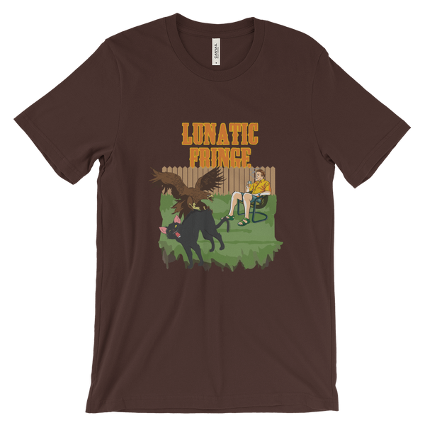 Lunatic Fringe Apparel Oklahoma Grown Apparel Frank Hawk Cat