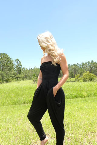 Cozy Black Jumpsuit