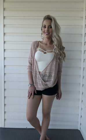 Blushing Babe-Blouse