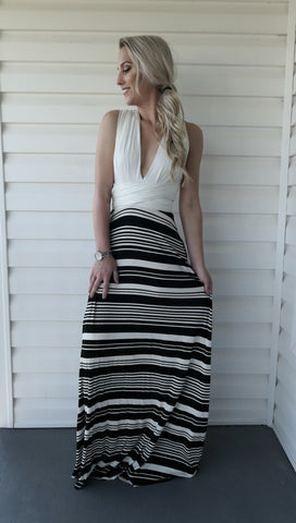 Wrap Me Up-Maxi Dress
