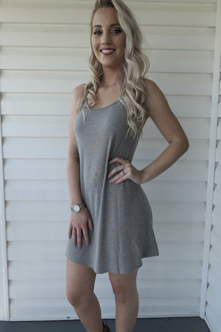 Go-To Grey- Dress