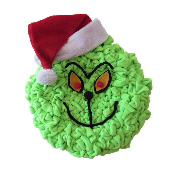 The Grinch Christmas Wreath