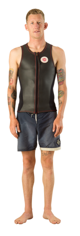 NWS-TV | Retro Vest with Front Zip