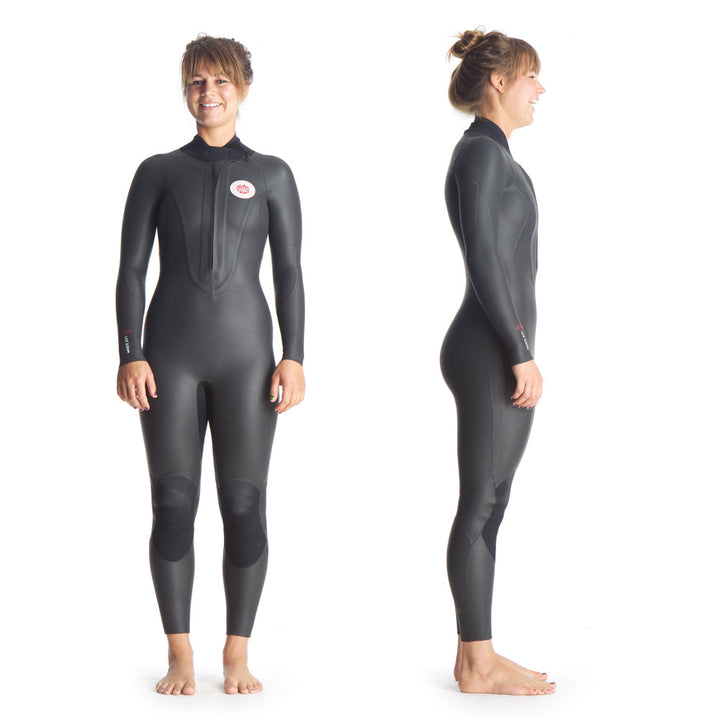 Ladies Catsuit - Front and right view