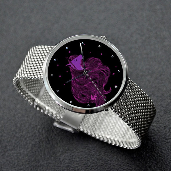 Limited Edition - 30 Meters Waterproof Quartz Unicorn Fashion Watch - UnicornsAreAwesome