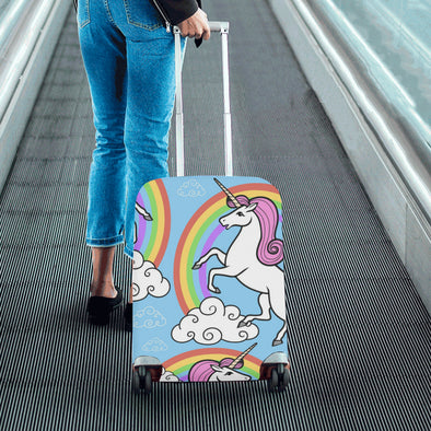 Unicorn Luggage Sleeve - Suitcase Cover - UnicornsAreAwesome