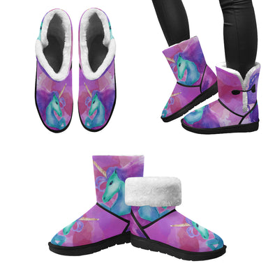 Mystical Unicorn Snow Boots (Women's) - UnicornsAreAwesome