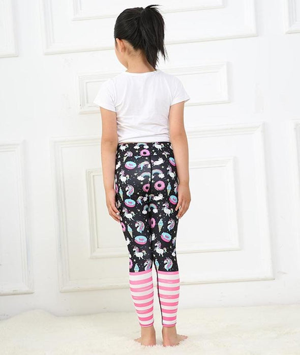 Magical Unicorn Leggings for Girls - UnicornsAreAwesome