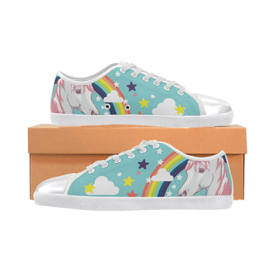 Unicorn - Women's Low Top Shoes - UnicornsAreAwesome