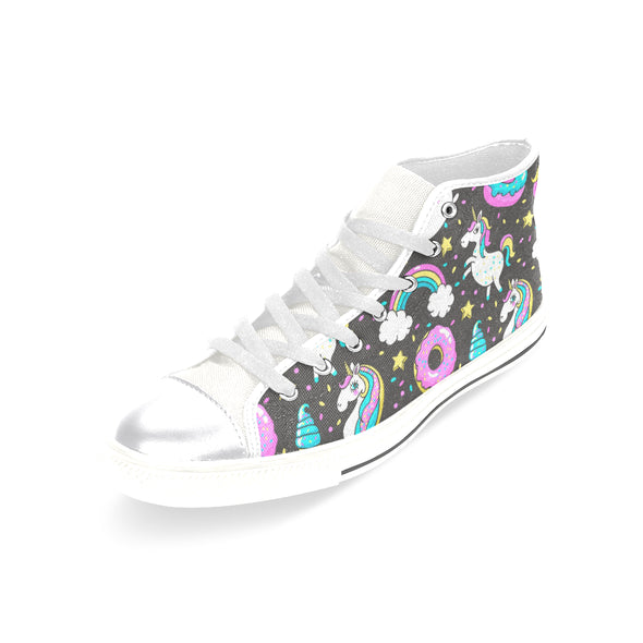 Donuts & Rainbows Unicorn Shoes (Women's) - UnicornsAreAwesome