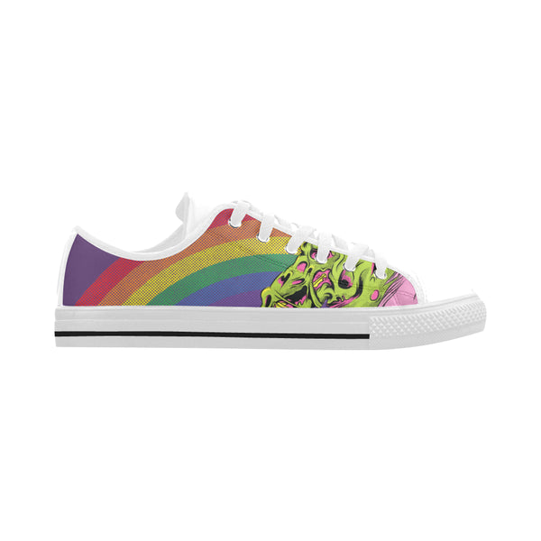 Awesome Zombie Unicorn Shoes - Get Your Rainbow On