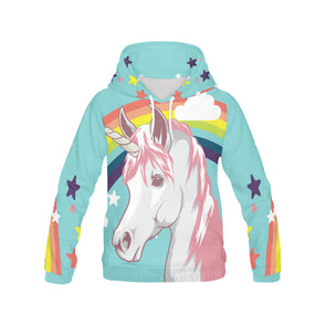 Awesome Unicorn & Rainbow Hoodie - UnicornsAreAwesome