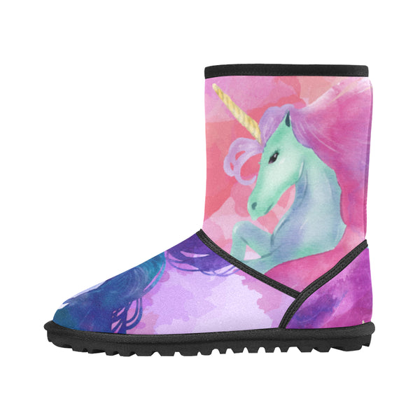 Mystical Unicorn Snow Boots (Kids)