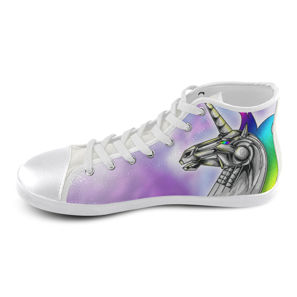 Robot Unicorn - Kids White - UnicornsAreAwesome