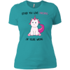 "Awesome Unicorn T-Shirt ""Either You Love Unicorns, or your wrong"" - UnicornsAreAwesome"