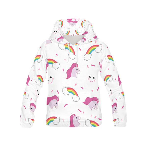 Awesome Unicorn & Rainbow Hoodie
