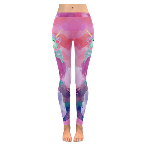 Awesome Pink Unicorn Leggings