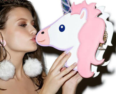 Unicorn Emoji Fashionable Purse - UnicornsAreAwesome