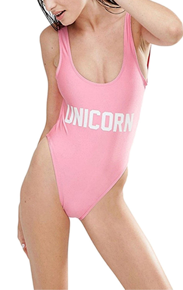 One Piece Unicorn Bathing Suit - UnicornsAreAwesome