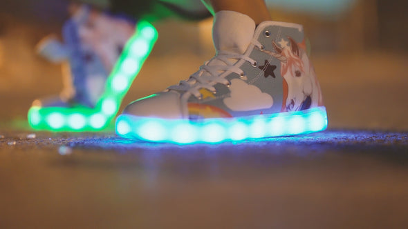 Limited Edition Led Unicorn Shoes - Kids - UnicornsAreAwesome