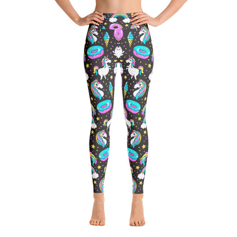 Dough-Nutty Unicorn Rainbow Leggings