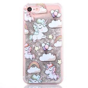 Unicorn Glitter iPhone Case - UnicornsAreAwesome