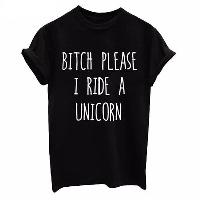 I Ride a Unicorn Shirt - UnicornsAreAwesome
