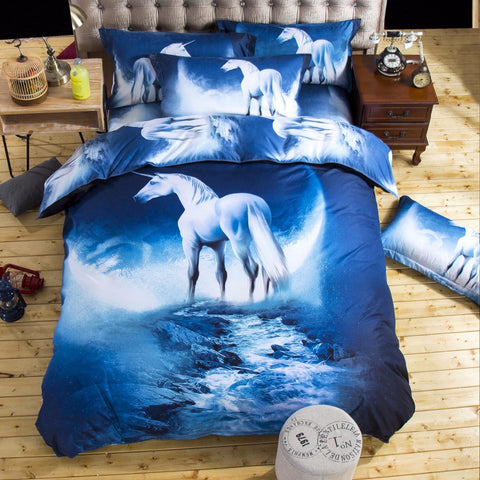 Limited Edition Unicorn Bed Sheet Set