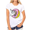 Donut Unicorn T-shirt - UnicornsAreAwesome