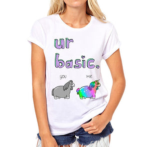 "Awesome Unicorn Shirt ""ur basic"" - UnicornsAreAwesome"