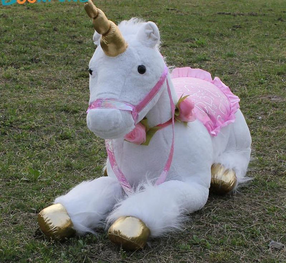 Jumbo Unicorn Plush - UnicornsAreAwesome