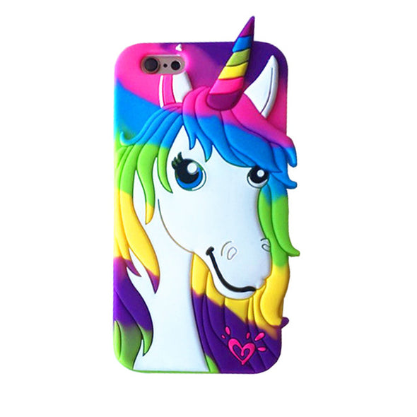 3D Unicorns and Rainbows iPhone Case - UnicornsAreAwesome