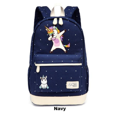 Dabbing Unicorn Backpack - UnicornsAreAwesome